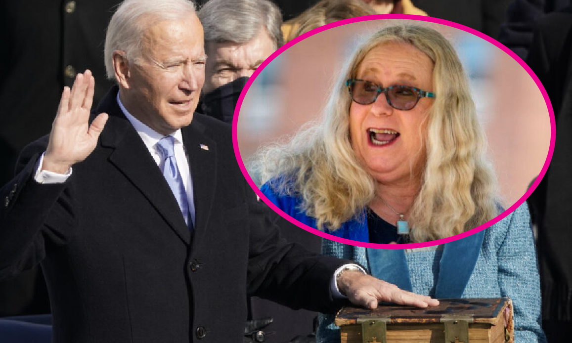 Catho-Dem Biden: Transgenders' Lover in Masonic Cult. Us President wants Them in Govt, Army and Female's Sports