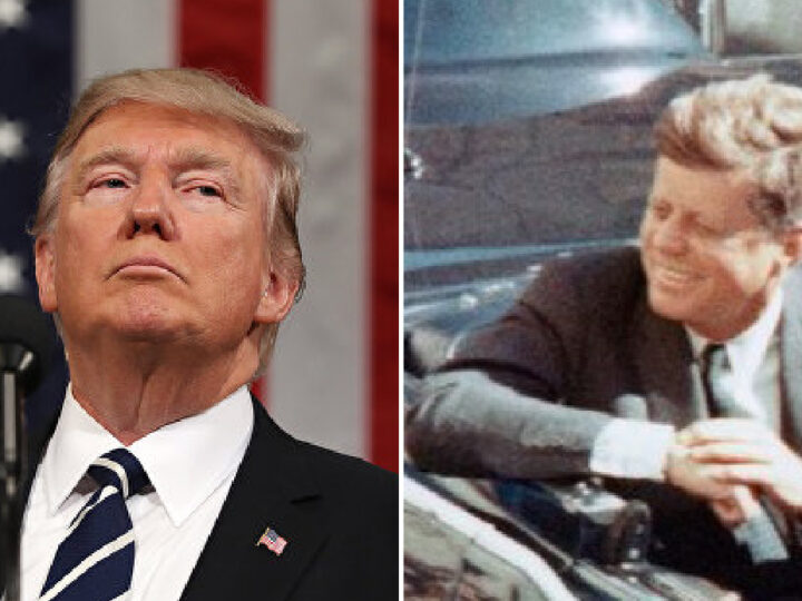 "TRUMP ACQUITTED! Stronger than Kennedy against Deep State: for now he's alive! ""Make America Great Again just begun"" said Donny"