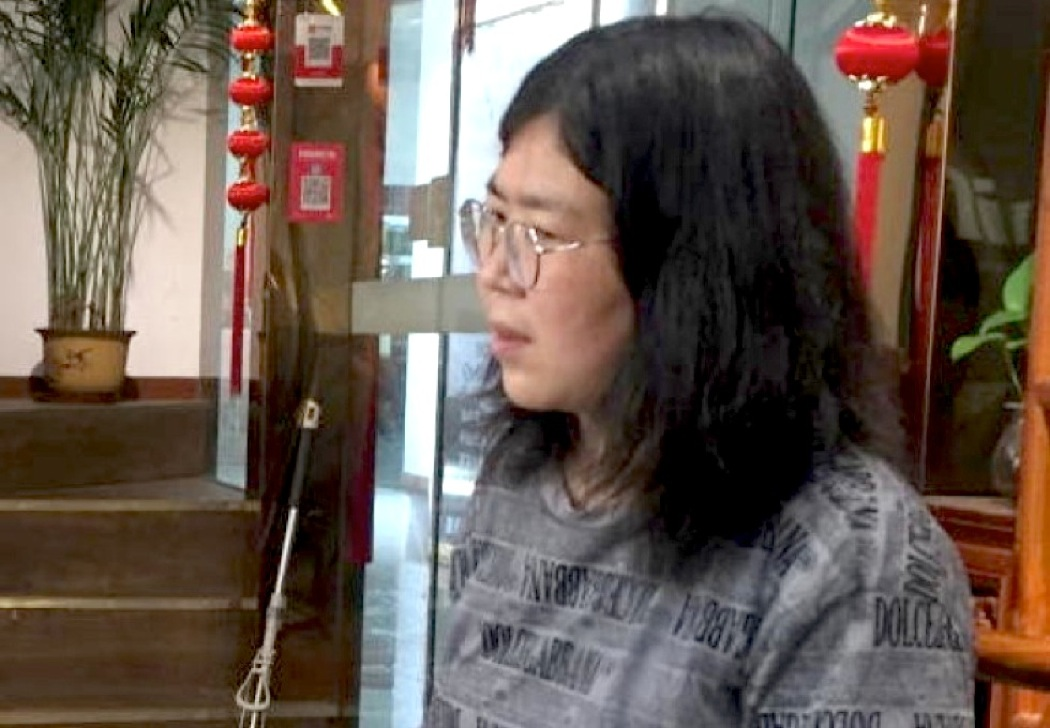 """""""In Wuhan to Reveal Truth in the Name of God"""". Zhang Zhan's Secret, Christian Reporter Tortured and Jailed by Communist China"""