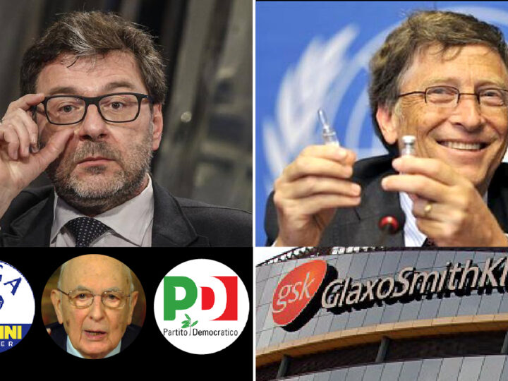 NWO's Plot against Italy (X-file 3) – League's Minister No More Populist: looks for production of Gates Big Pharma's Vaccines