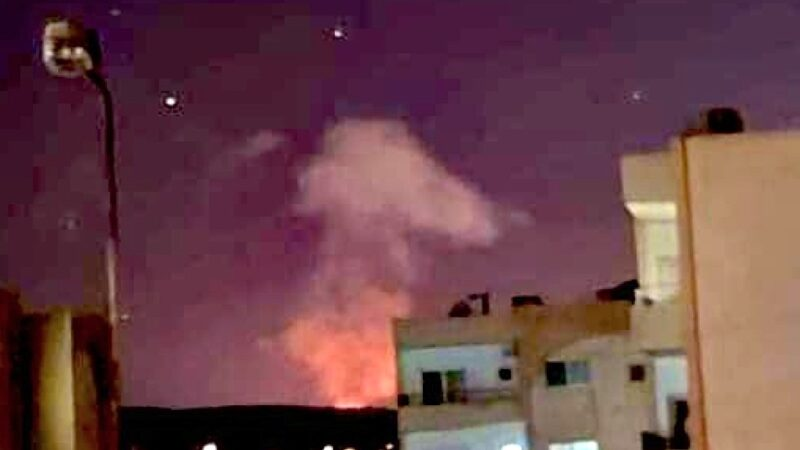 Israeli Missiles on Damascus after Iranian warning. Dangerous provocation