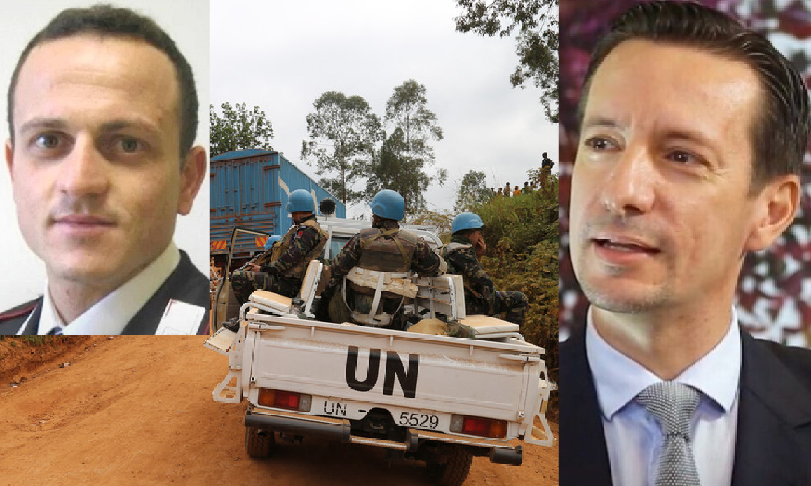 Italian Ambassador and Carabiniere Killed In Congo. Suspicions on ISIS that released 1,300 Prisoners from Jail months ago