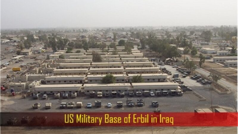 Rocket attack on Erbil's US Base in Iraq: 1 killed, 6 injuried