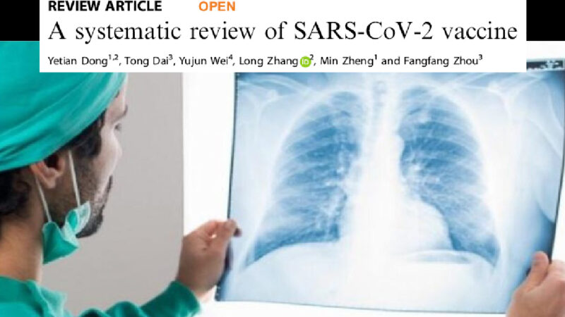 """Exclusive – """"With Covid Vaccines Risks of Pulmonary's Serious Injuries"""". Shocking Research on Nature Journal, ignored by Scientific Community, Big Pharma and Media"""