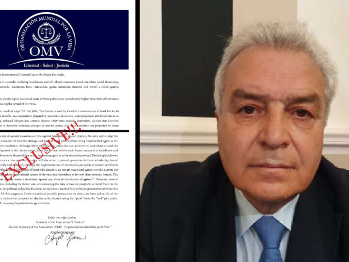 """EU Hard Lockdowns are Crimes against Humanity"". Italian Magistrate's Complaint to Hague Court"