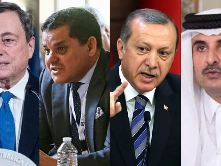 Italy-Libya's Alliance with Turkey-Qatar thanks to New Islamist PM, Muslim Brotherhood & Weapon's Lobby