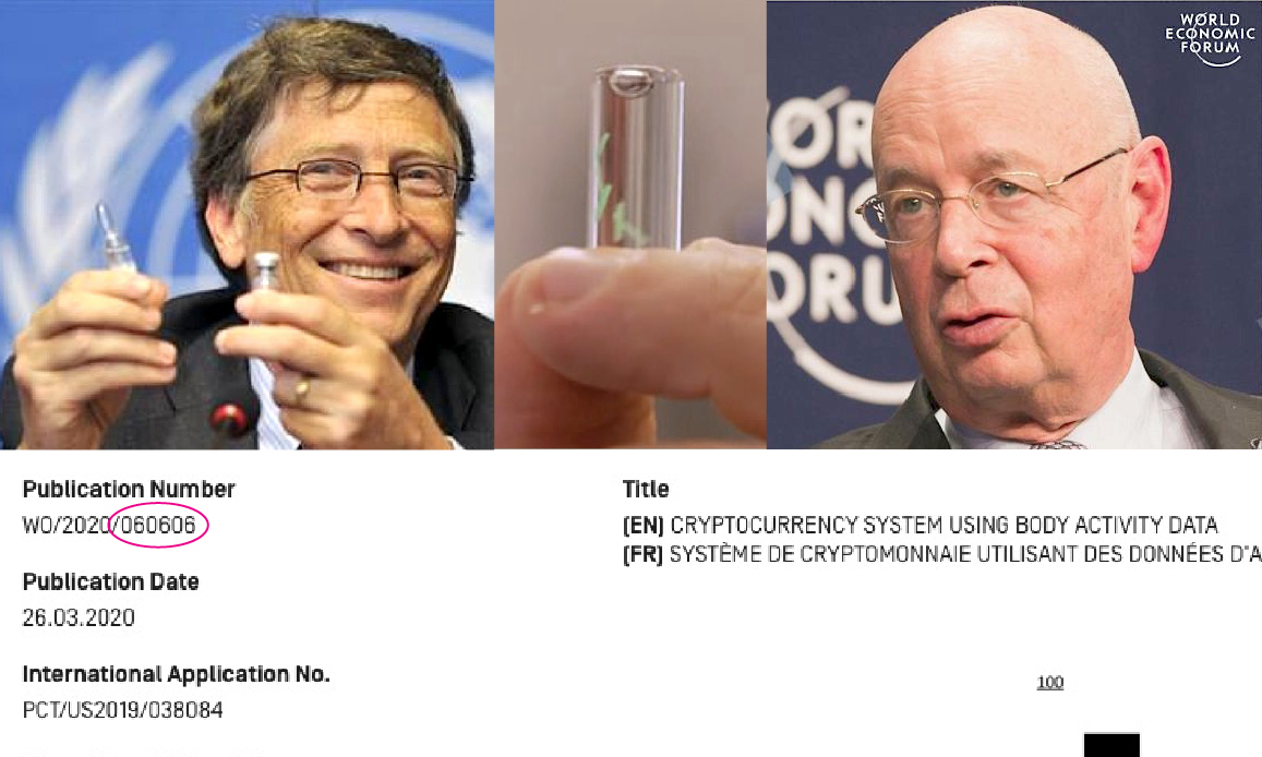 EU GREEN PASS, UNDER SKIN MICROCHIP AND GATES' 666 MARK OF THE BEAST. Transhumanist Plot by Klaus Schwab (Great Reset) & NWO against Christianity