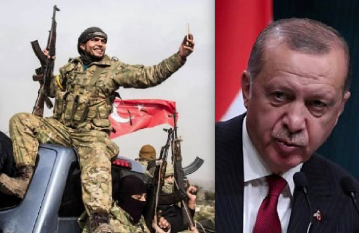 OTTOMAN EMPIRE CAN RISE THANKS TO THE US. Turkish jihadists from Syria to Afghanistan