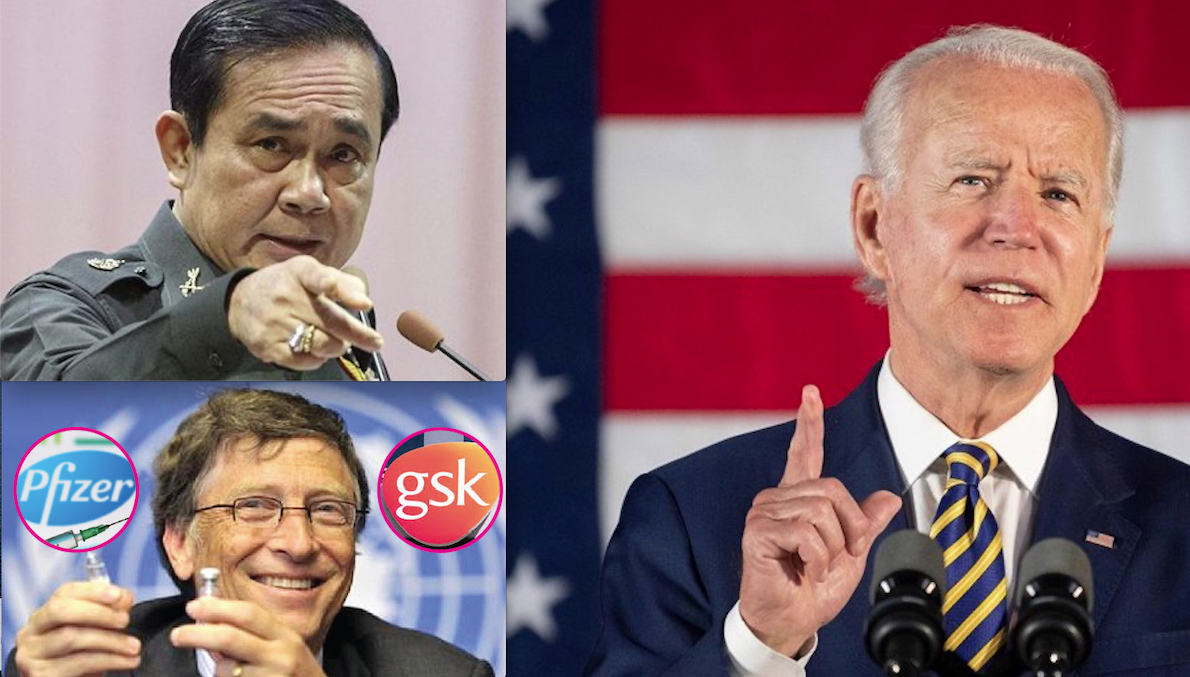 Censorship & Dictatorship on Vaccines' Risks. 5 years in Jail in Thailandia. White House's Monitoring Even SMS