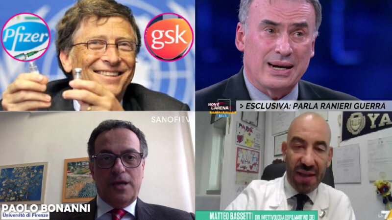 """Soon Covid Vaccines even for NewBorns"". Diktat by Italian Pediatricians & Physicians Sponsored by Gates' Pfizer-GSK"