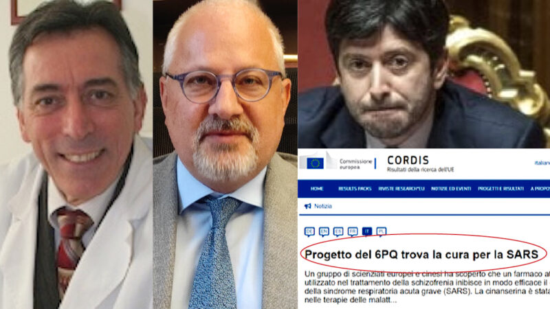 """IGNORED THERAPY: """"Anti-SARS Drug Financed by EU but Not Used in Covid Pandemic"""". Hard Complaint by Italian Biologist and Lawyer"""