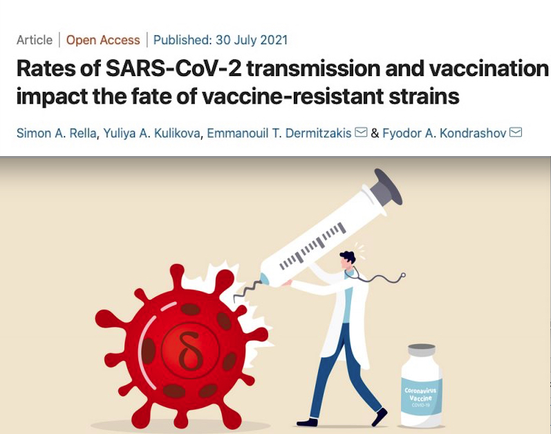 COVID: Alert on Emergence of Resistant Strains among Vaccinated. European Research asks Lockdown