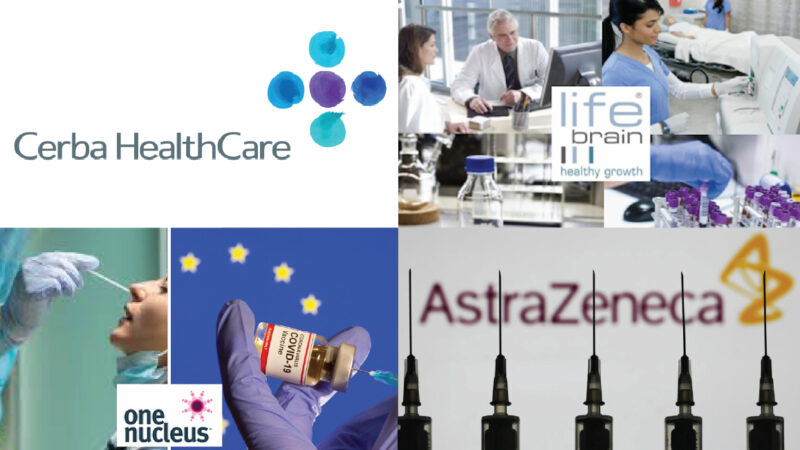 Covid Tests in Italy-EU managed by a Partner of the Vaccines' Big Pharma: Cerba French company in AstraZeneca's Ong