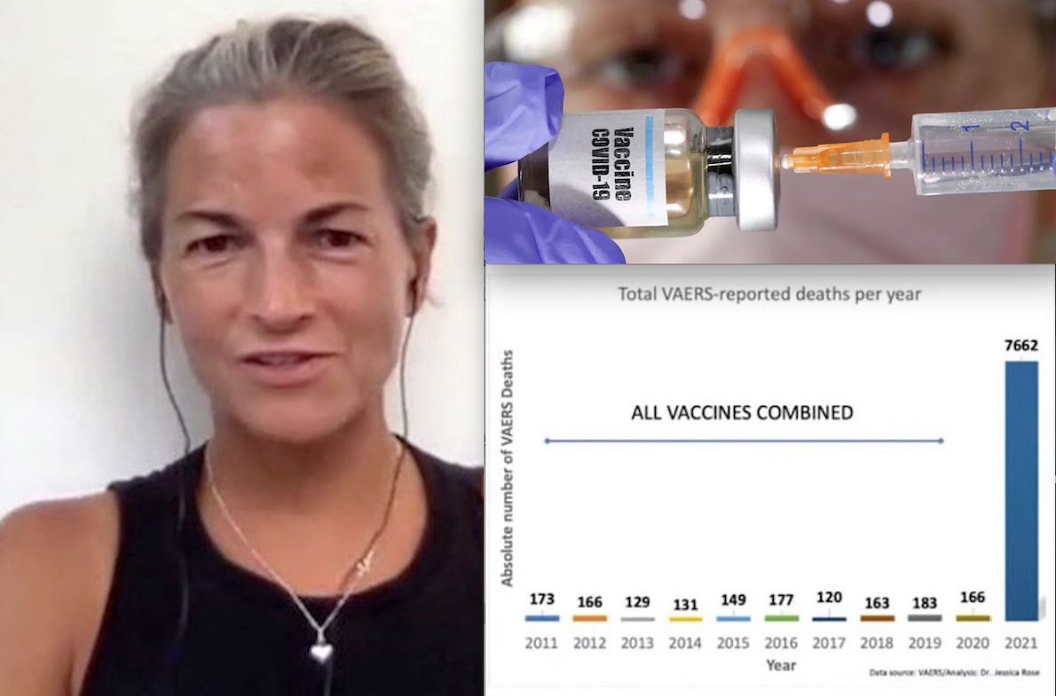 """Deaths after Vaccines in 2021 much more than in the Past 10 Years! """"1000 % more Adverse Reactions'. Alarm by US Virologist to FDA"""