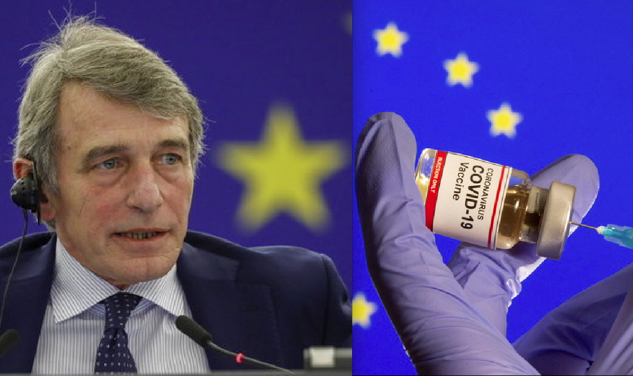 EU Parliament President Hospitalized for Suspicious Pneumonia. 2 thousands Deaths due to Respiratory Pathologies after RNA Vaccines in European Union