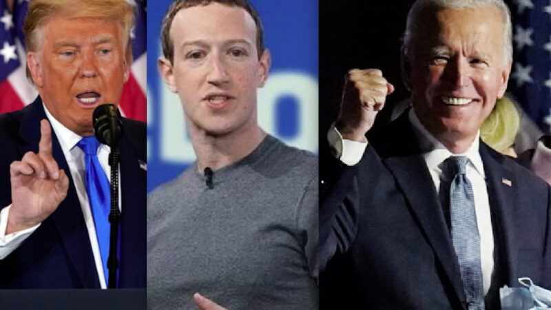 Here's how Zuckerberg Bought the US elections. To make Biden win against Trump $ 400 million at the Electoral Offices