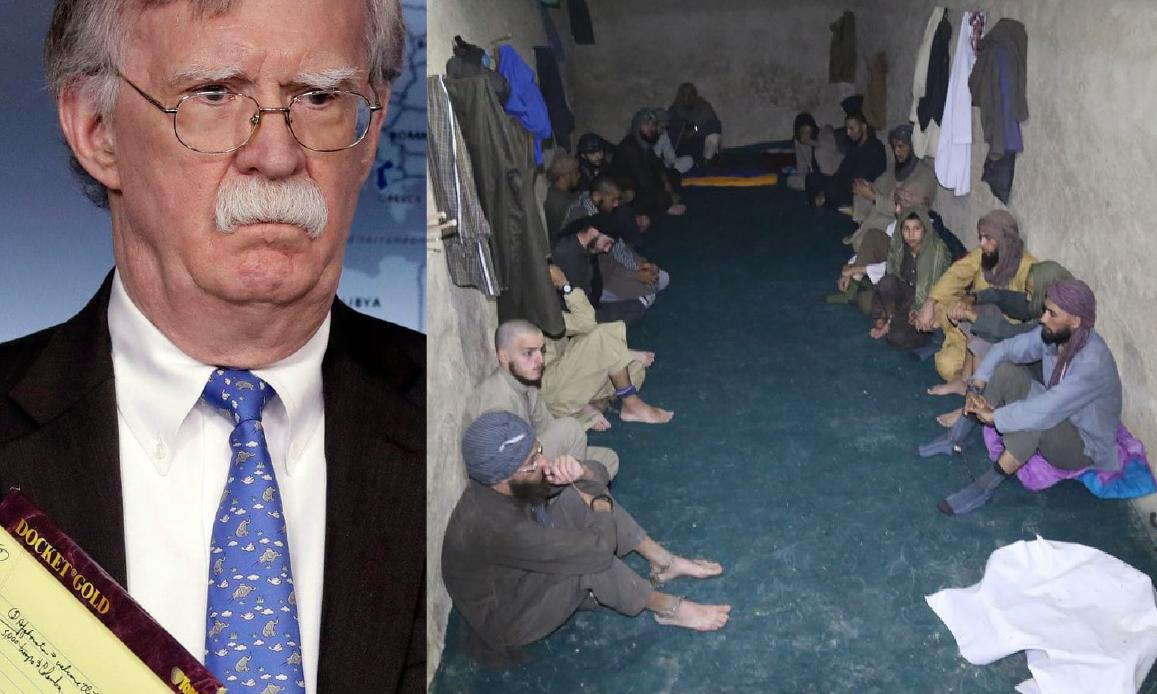 BLITZ USA FA EVADERE 40 CAPI ISIS DA UNA PRIGIONE AFGANA