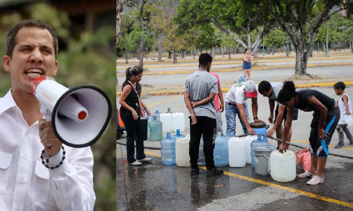 SABOTAGGI IN VENEZUELA: NE' LUCE NE' ACQUA. GUAIDO' RISCHIA L'ARRESTO