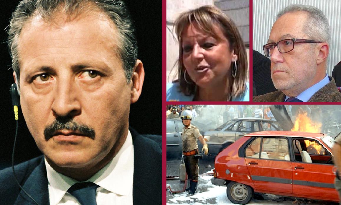 DEPISTAGGIO SULL'ATTENTATO A BORSELLINO: INDAGATI DUE PM DEL POOL