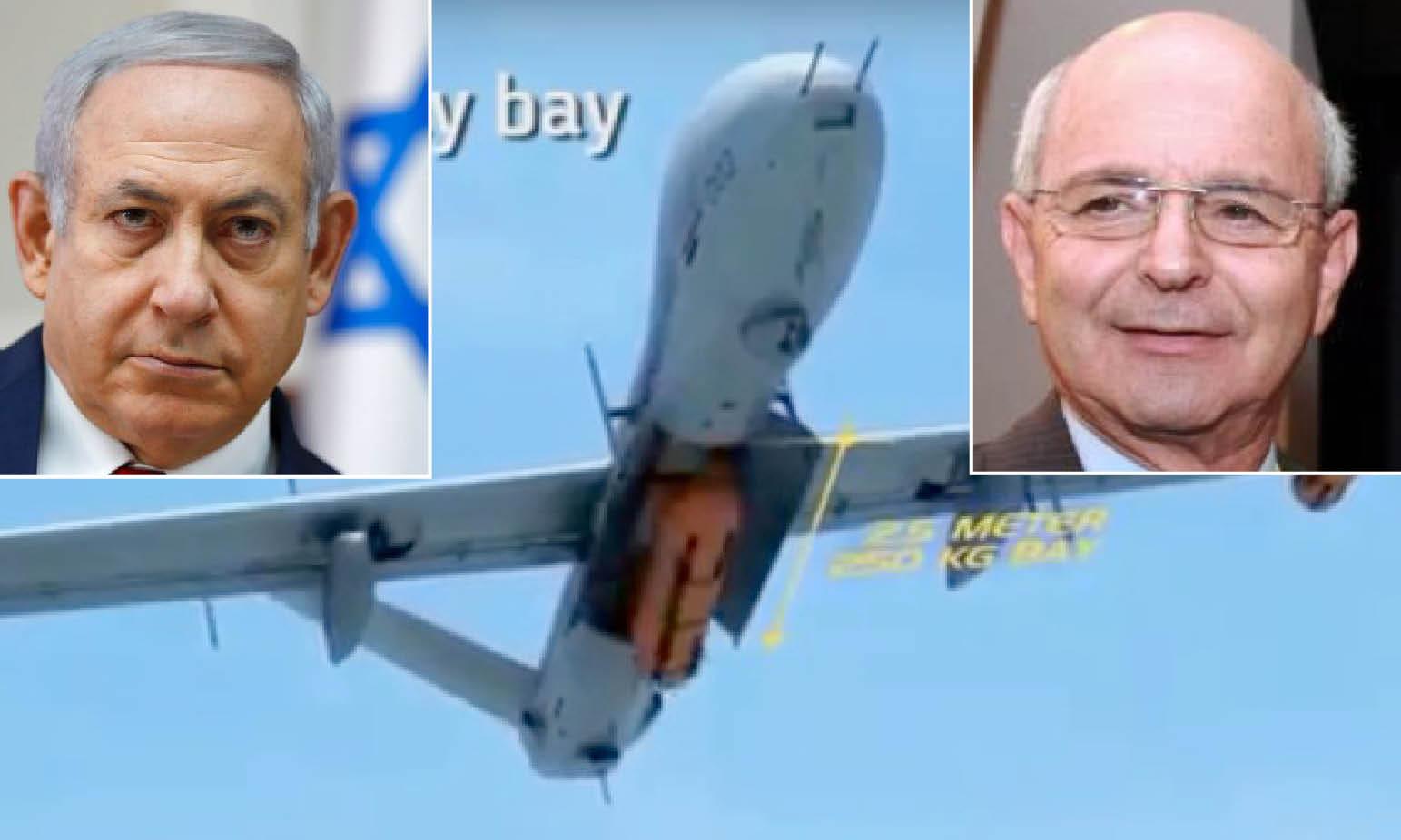 LOBBY ARMI – 3: TYCOON SIONISTA DEI DRONI SPIA-KILLER PREMIATO DAI MASSONI USA E DALLA REGINA UK