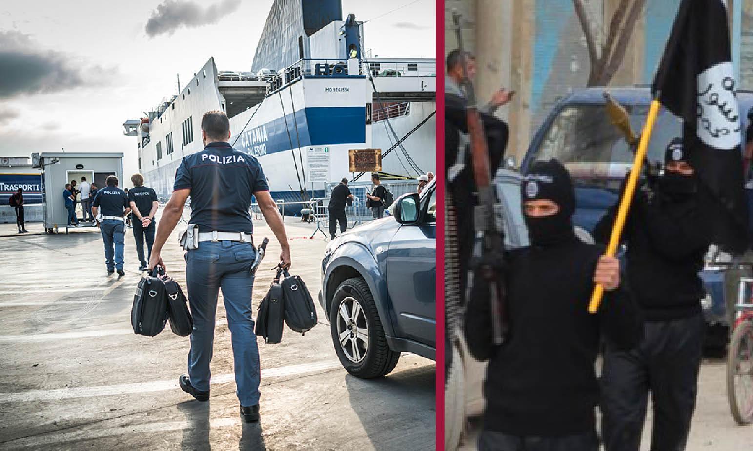 BLITZ INTERPOL NEI PORTI ITALIANI: intercettati i terroristi venuti dal mare