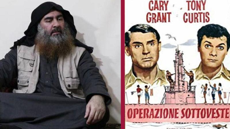 Come in un film: Al Baghdadi incastrato dall'intelligence Usa per le mutande