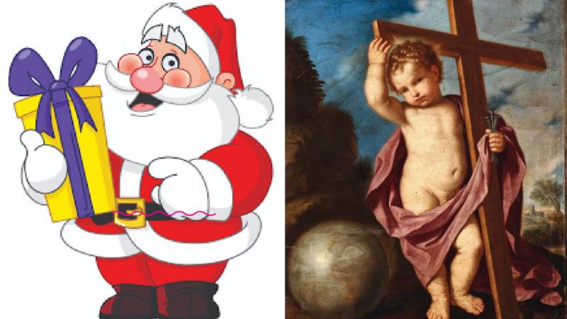 33RIGHE: Il no-gender Santa Claus come Erode: vuole uccidere Gesù Bambino!