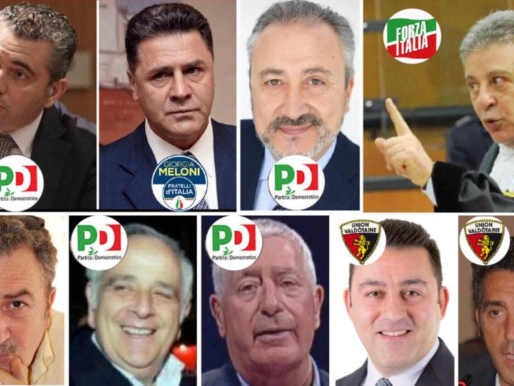 """'NDRANGHETA & MAFIA: I POLITICI ARRESTATI-PROCESSATI NEL 2019. E l'""""autostrada"""" dei massoni…"""
