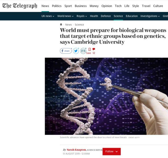 """CoronaVirus – 1. """"IT'S BIO-WEAPON"""". Us Expert blames China but ..."""