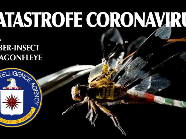CoronaVirus – 2. ARMA BIO-GENETICA. Gli 007: «Diffusa coi nano-droni CIA» e Cyber-libellule. Strage in Iran. SOS Italia
