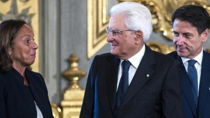 SICUREZZA ITALIA: Tre burocrati mondialisti contro tutti. QUIZ: Dall'Africa arriverà prima l'ISIS o il CoronaVirus?