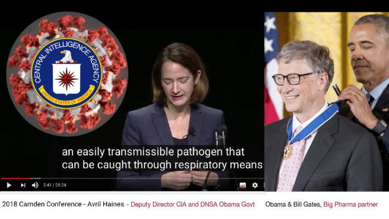 CoronaVirus BIO-ARMA – 6. ECATOMBE ITALIA: Profezia sulla pandemia e sull'Ordine Mondiale dell'ex regina CIA di Obama e Biden