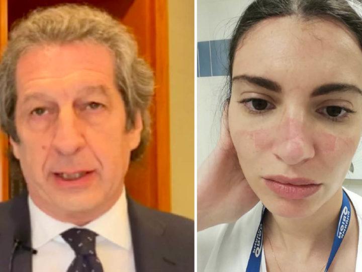 EROI CONTRO IL CORONAVIRUS: Roberto medico martire, Martina infermiera in trincea