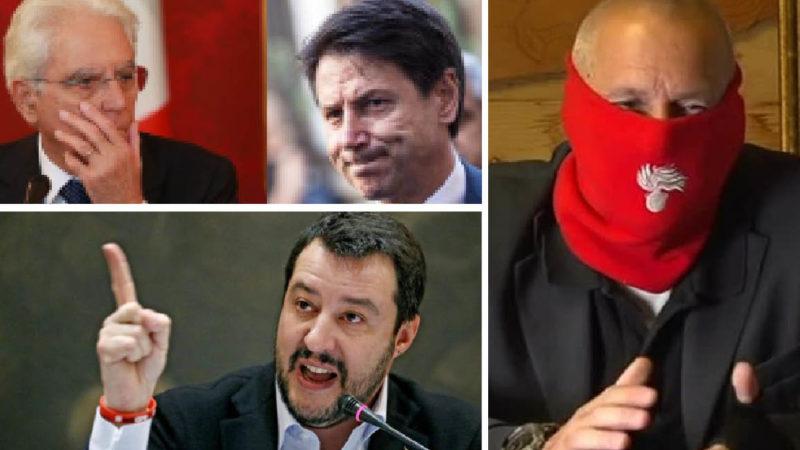 SALVINI E ULTIMO: DUE CAPITANI CONTRO IL FOLLE LOCKDOWN. La rivolta pacifica è iniziata. #ItalianiTuttiCongiunti
