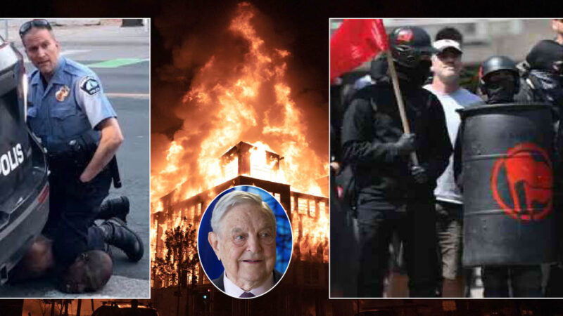 INFERNO MINNEAPOLIS PER BLACKS DI SOROS & ANTIFA ALLEATI ISIS. Complotto Deep State contro Trump dietro all'omicidio