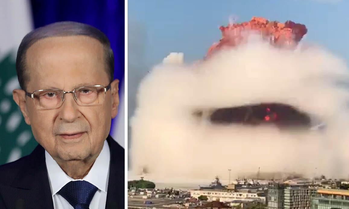 """STRAGE BEIRUT PER UN MISSILE. Lo dicono il presidente del Libano e un esperto militare italiano. """"Gli anelli termici indicano impatto dall'alto"""""""