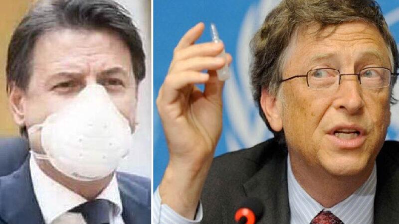 """COVID-19: GANG DI CONTE INDAGATA E GIA' """"ASSOLTA"""". Terrorismo Sociale ma Cure Ignorate per Uccidere i Nonni, Indebitarci e Vaccinarci Tutti"""