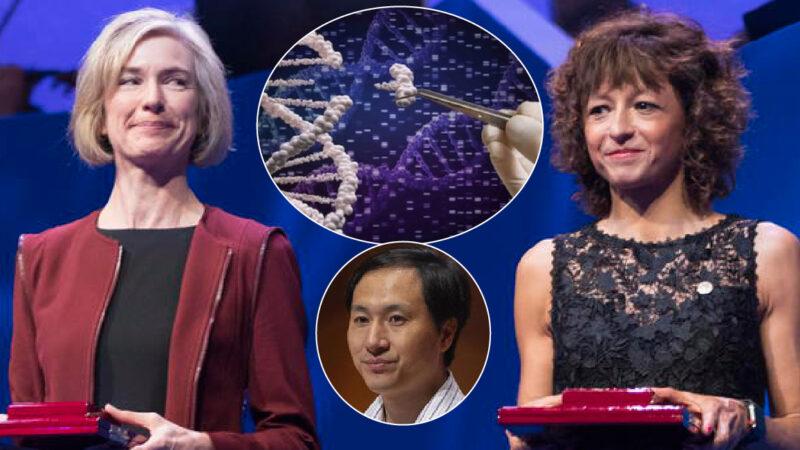 """NOBEL PER LA CHIMICA ALLE """"MATRIGNE"""" DELLE NEONATE COL DNA ALTERATO. I loro Test su Embrioni Umani usati dal Genetista Cinese Condannato per Bebè Transumane"""
