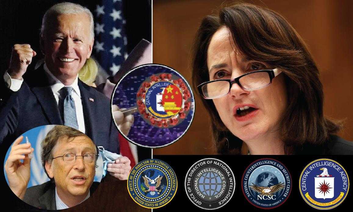WUHAN-GATES – 25. AL TOP DELL'INTELLIGENCE USA LA PROFETESSA DI PANDEMIA E NWO. Biden premia l'ex CIA Haines: guidò l'esercitazione di Gates