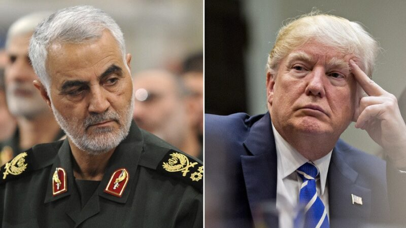 Breaking: l'Iran chiede all'Interpol di arrestare Trump per l'assassinio di Soleimani