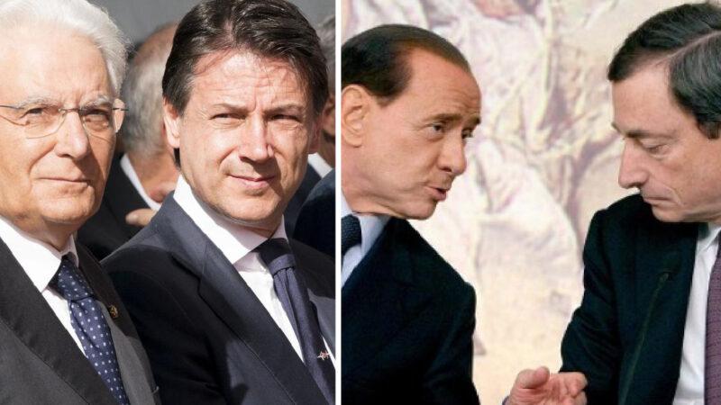 MEZZOGIORNO DI FUOCO: CONTE SI E' DIMESSO. Berlusconi già pronto al Nazareno Bis col PD… Per Draghi premier?