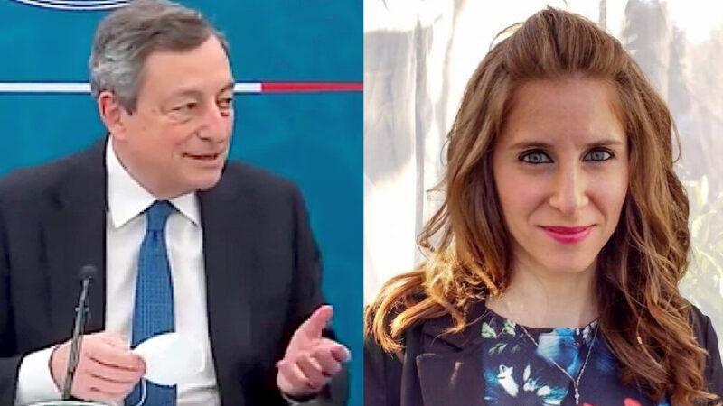"""PROF 31ENNE MORTA DOPO IL VACCINO. Ma Draghi scherza sui Sieri """"Acqua di Fogna"""". Attacco mediatico ai magistrati Giorgianni e Gratteri"""