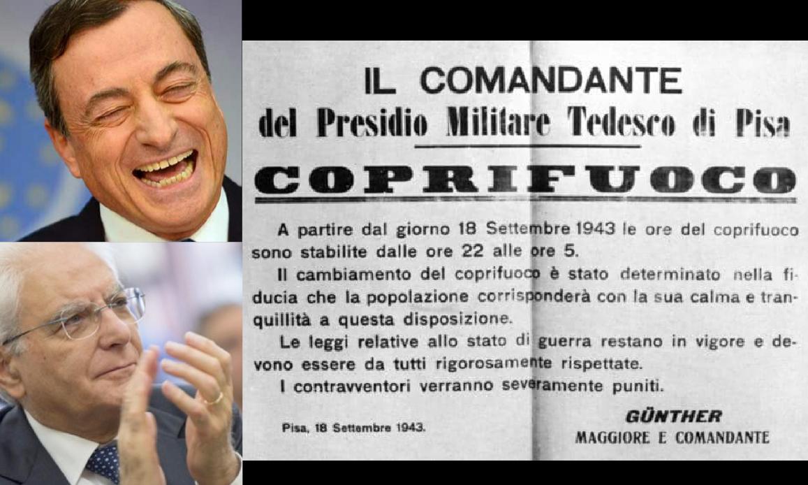 COPRIFUOCO NAZISTA! Diktat di Draghi umilia la Lega sull'ora d'aria in più. Si spacca il Parlamento tedesco