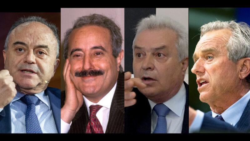 GRATTERI COME FALCONE, GIORGIANNI COME KENNEDY. Chi tocca Mafia, Massoneria e Big Pharma finisce sotto Tiro Mainstream