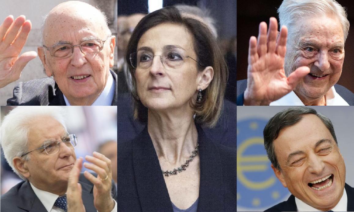 NWO CONTRO L'ITALIA – 6. La Ministra dei Vaccini Obbligatori (ai sanitari) ne impose 12 ai Bimbi da Giudice. All'ombra di Napolitano & Soros