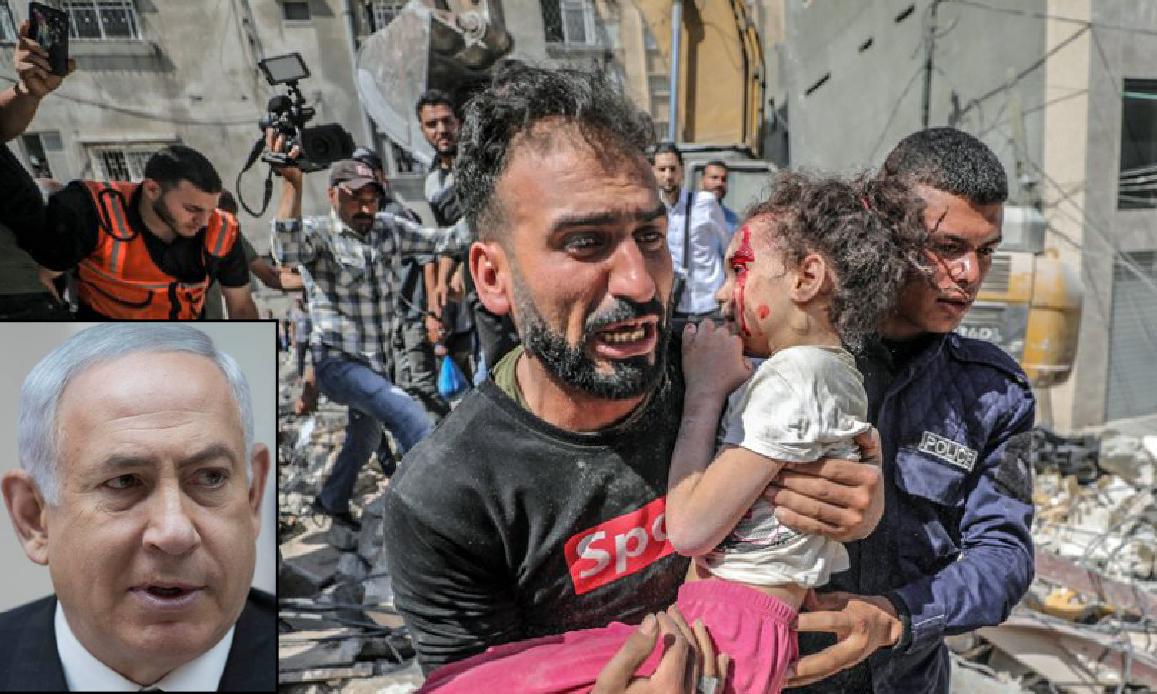 """64 BAMBINI UCCISI PER DISTRUGGERE HAMAS! Ma Netanyahu ora avrebbe accettato il """"Cessate il Fuoco"""" per Gaza"""