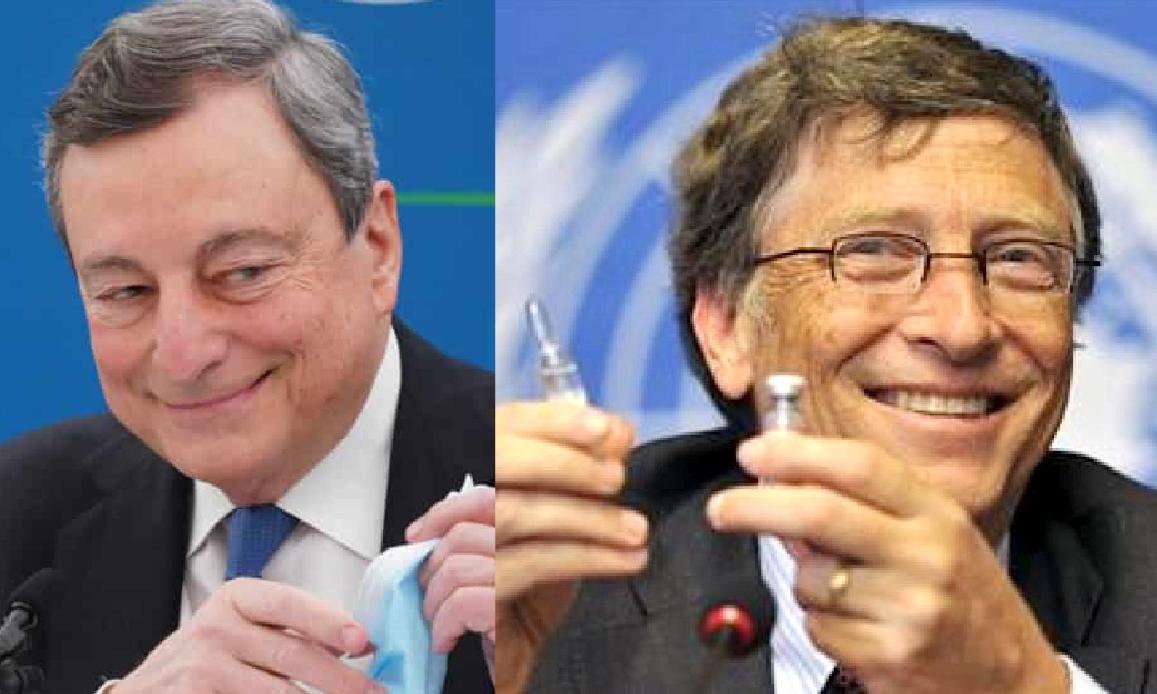 VACCINI: A ROMA IL SUMMIT DELLE MENZOGNE GLOBALI. UE e Italia nei Loschi Affari di Gates & Big Pharma con Biden