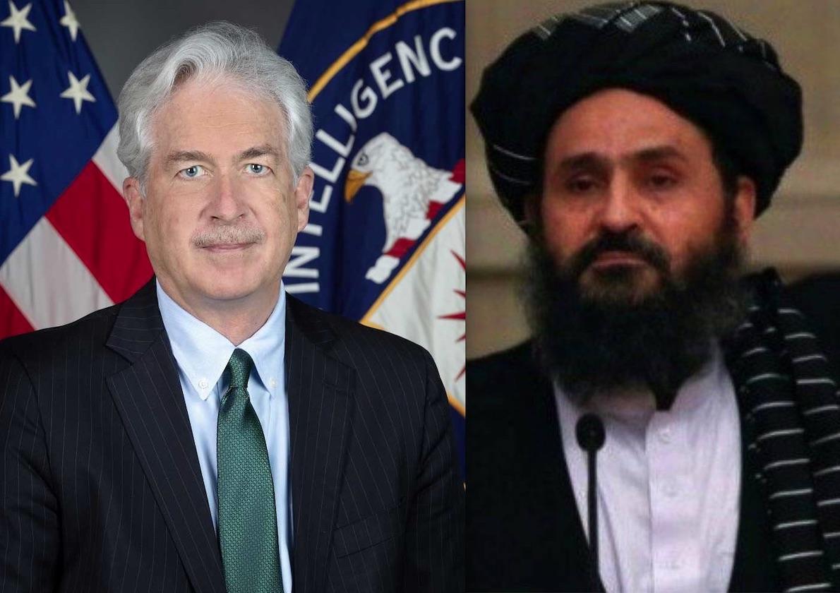 CRISI KABUL: COME PREVISTO DA GOSPA NEWS IL CASO PASSA ALLA CIA. Incontro Segreto col Leader dei Talebani