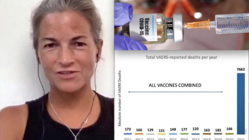 "2021, STRAGE DA VACCINI COME MAI DA 10 ANNI. ""1000 % di Reazioni Avverse in più"". Virologa USA allerta FDA: Ignorata!"