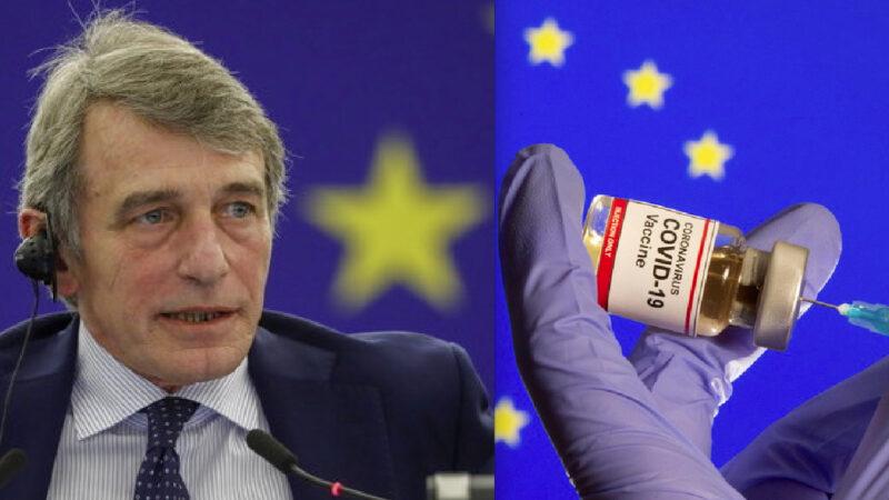 POLMONITE SOSPETTA PER IL VACCINATO SASSOLI. Dopo Pfizer 1.414 Decessi per Malattie Respiratorie in UE. Incubo Immunopatologia